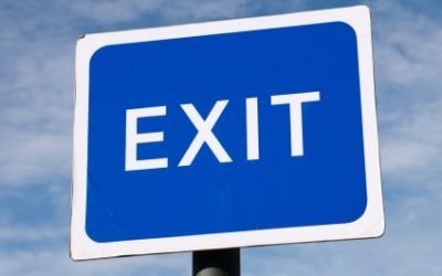 Two very different exits