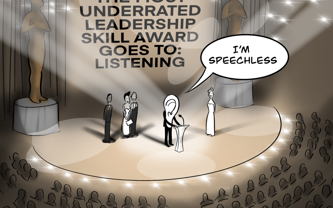 At The Leadership Awards Ceremony